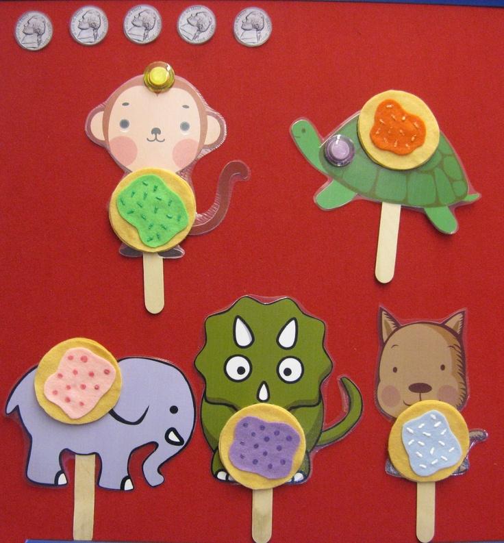 Read Rabbit Read: Flannel Friday: Five Little Cookies