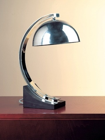 Table Lamp by Donald Deskey: ca 1937.