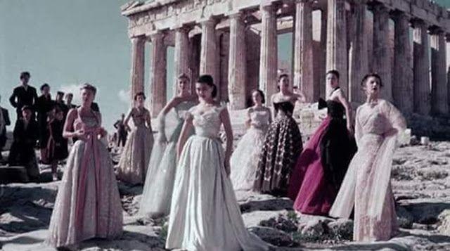 Ο Dior έχει κάνει επίδειξη μόδας στην Ακρόπολη