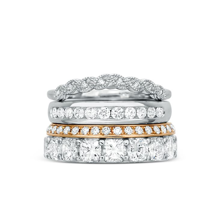 Rosendorff has stunning new designs of wedding and anniversary ring available. Explore the range at www.rosendorffs.com