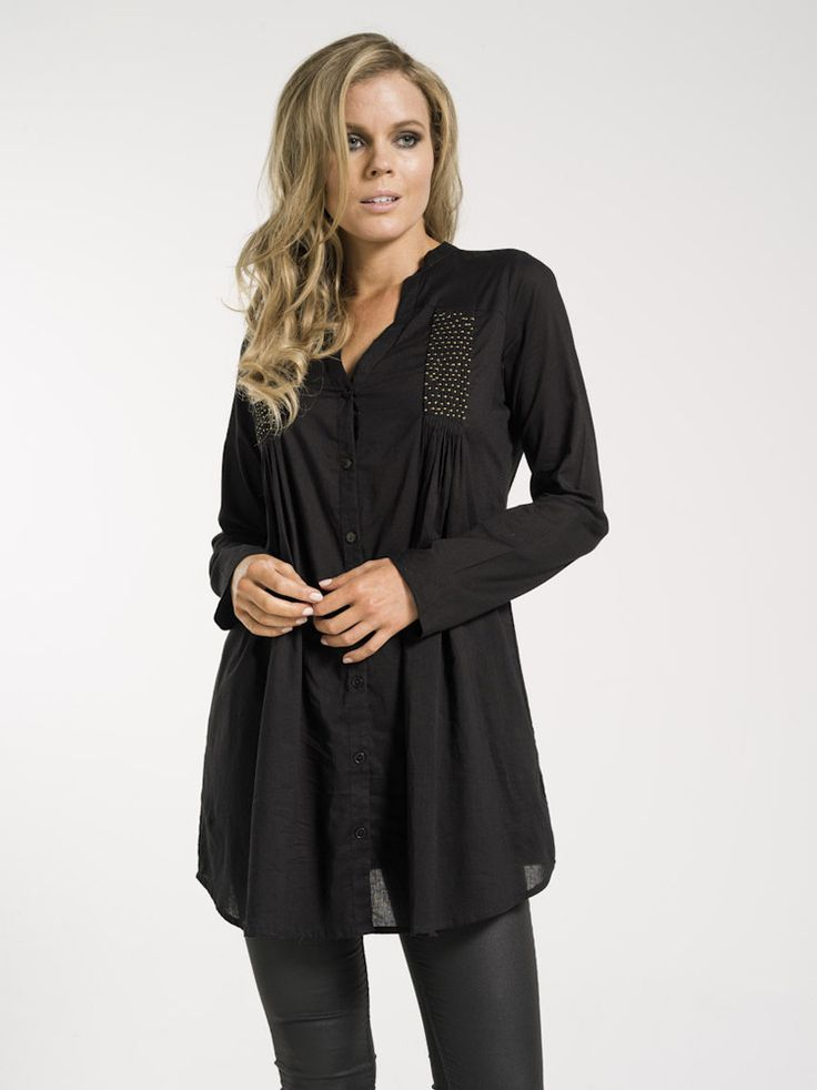 Carina Tunic - layered for winter or leave it sheer for spring