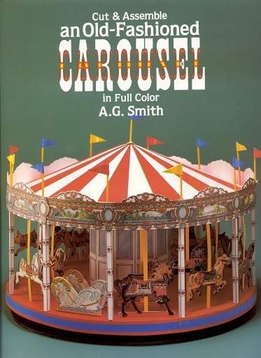 how to make merry go round by paper