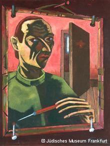 A self-portrait of Leo Maillet, Copyright: Jüdisches Museum Frankfurt #jewishartist