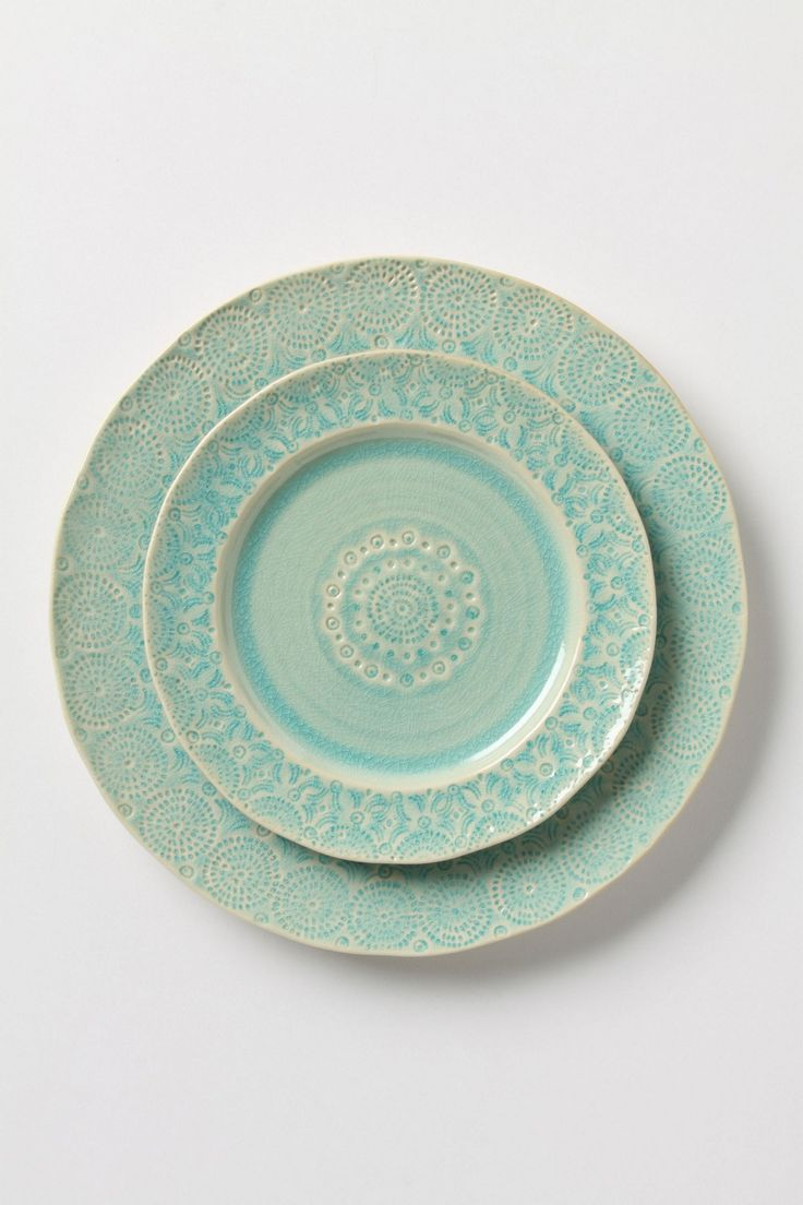 my heart bursts. Old Havana Dinner Plate from Anthropologie.com