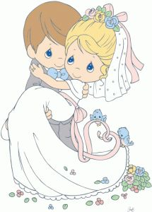 Silhouette Design Store - View Design #79821: bride and groom