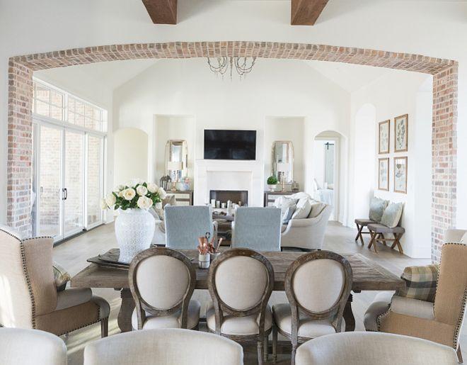Brick Arch Brick Arch Interior Brick Arch #BrickArch  За трапезарията към кухнята?