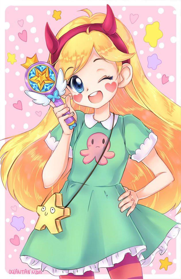 Звездная принцесса картинки аниме