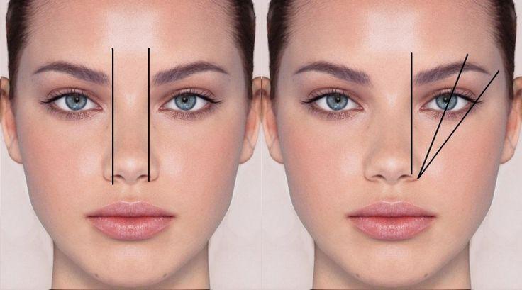 Permanent Make-up -augenbrauen-formen-messen-richtige-form