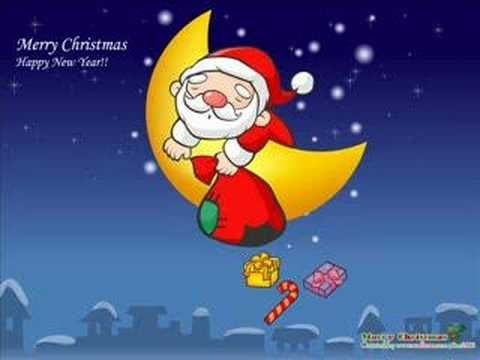 We wish you a merry christmas, good for children. Click and watch