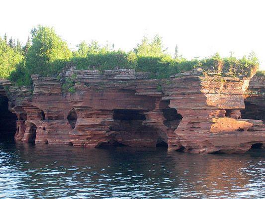 Apostle Island Sea Caves, Apostle Islands National Lakeshore, Lake Superior, Wisconsin