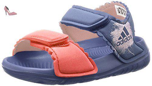 adidas Altaswim, Sandales Bout Ouvert Mixte Bébé, Violet (Super Purple/Haze Coral/Easy Coral), 23 EU - Chaussures adidas (*Partner-Link)