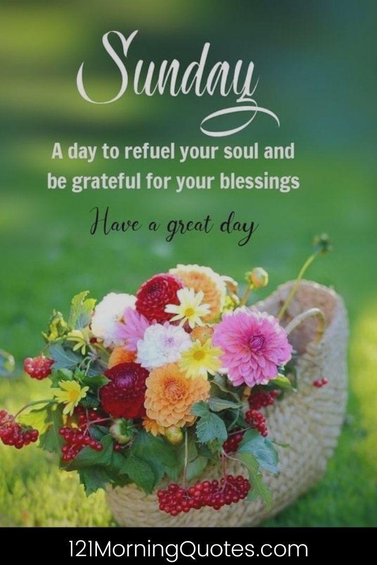 Good Morning Sunday Quotes   Happy Sunday Quotes   Sunday Morning ...