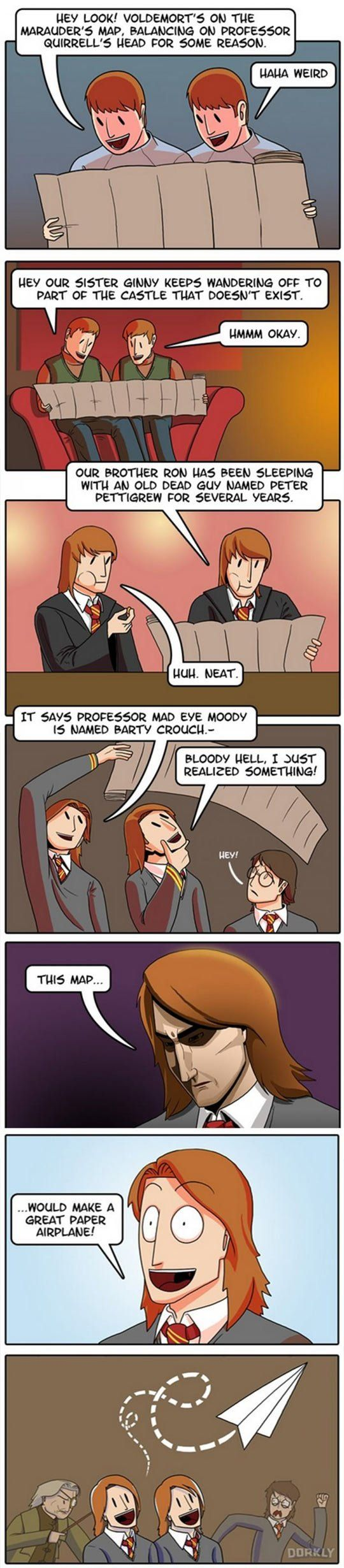 Why The Weasley Twins Are The Dumbest Characters In Harry Potter