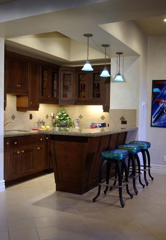 Turn small u shaped kitchen into an open kitchen home I shaped kitchen