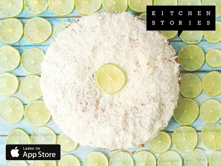Ich koche Limettenkuchen mit Kokos mit Kitchen Stories. Einfach köstlich! Hol dir jetzt das Rezept: https://kitchenstories.io/recipe/limettenkuchen-mit-kokos