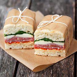 pressed italian sandwiches: Picnics Perfect, Company Picnics, Summer Picnics, Press Italian, Italian Sandwiches, Yummy, Food Presents, Perfect Press, Sandwiches Recipe