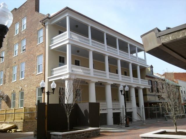 Taylor Hotel Winchester Va Statesmen Henry Clay And Daniel Webster Reportedly Stayed At The In