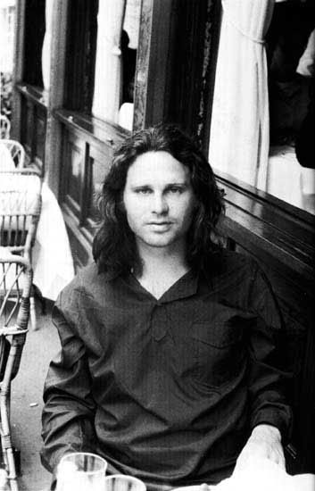 Jim Morrison in Paris, right before his  death  ♫♫♫ Music is my boyfriend ♫♫♫ .