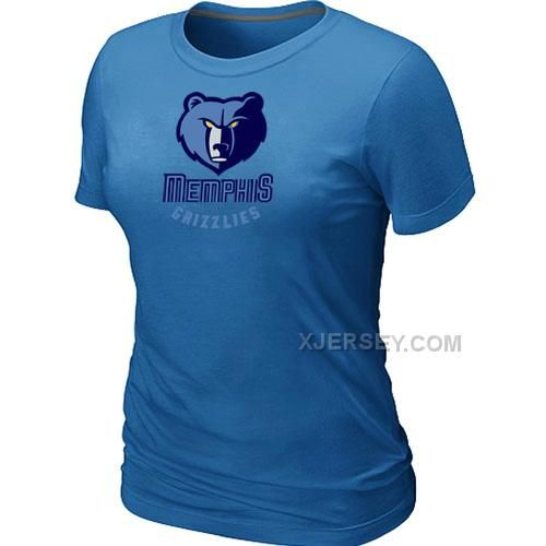 http://www.xjersey.com/memphis-grizzlies-big-tall-primary-logo-lblue-women-tshirt.html MEMPHIS GRIZZLIES BIG & TALL PRIMARY LOGO L.BLUE WOMEN T-SHIRT Only $27.00 , Free Shipping!
