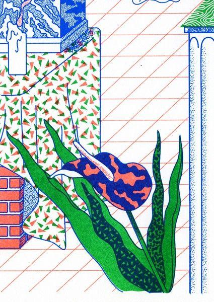 Patterns & colours.