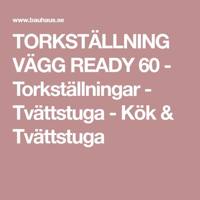 TORKSTÄLLNING VÄGG READY 60 - Torkställningar - Tvättstuga - Kök & Tvättstuga