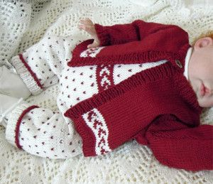 Baby Overalls and Sweater