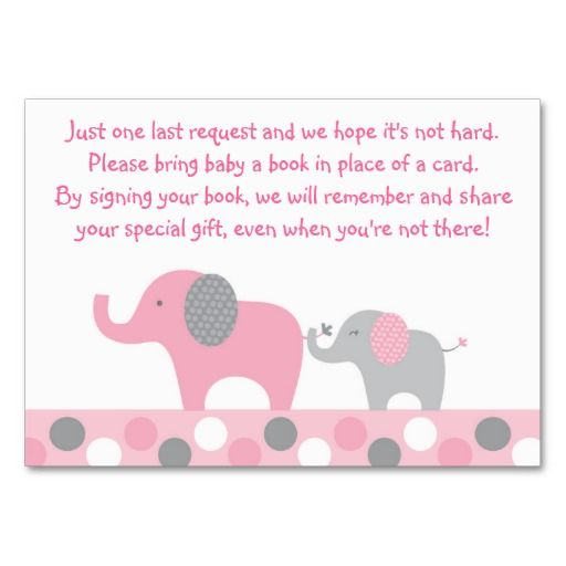 Best Baby Shower Book Request Cards Images On