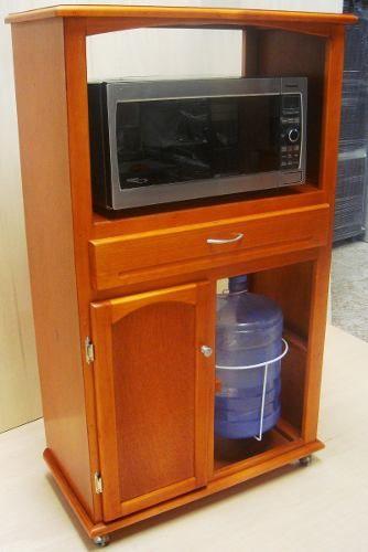Mejores 17 im genes de muebles para hornos micro en for Mesa para microondas