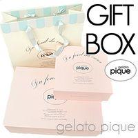 ギフトボックス/GiftBox/ジェラートピケ/gelatopique