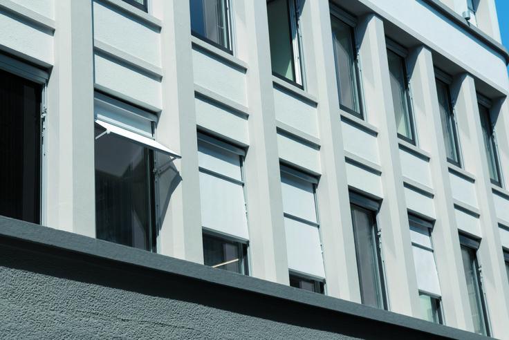 Visombra: uma combinação inteligente de toldo vertical e de braço