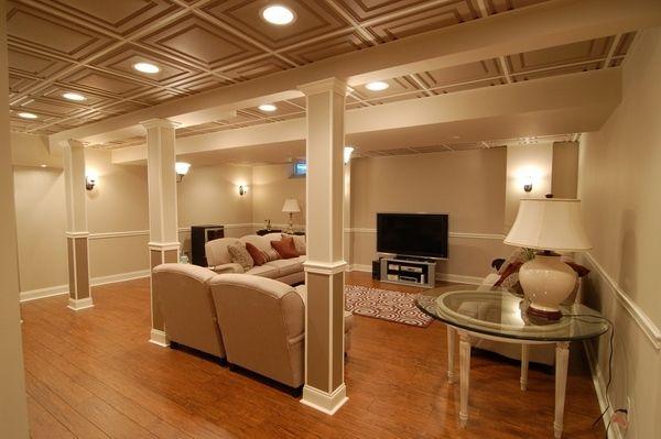 Top 8 Basement Lighting Ideas Drop Ceiling Designs In 2019