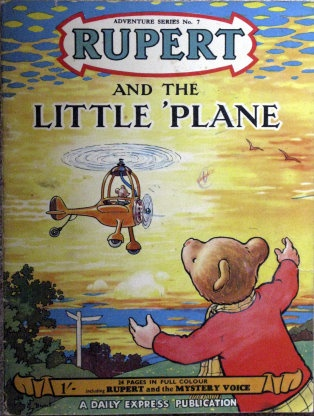 Vintage Rupert Bear book, via March House Books. Had these books.
