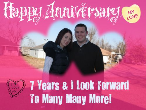 Love Letter To My Husband Happy 7th Anniversary My Love