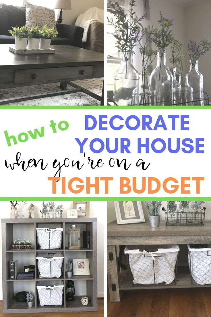 How To Decorate Your House On A Tight Budget Farmhouse Style
