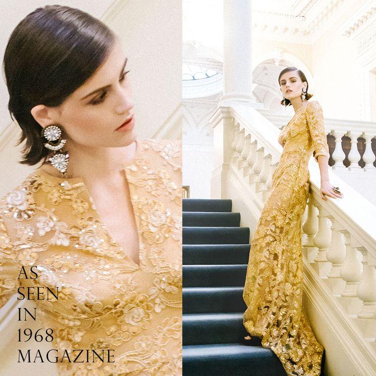As seen In 1968 Magazine Earrings by Karen McFarlane Photographer / Hong Li Stylist / Felicia Ann Ryan MUAH / Irene Sy Model / Shain Hanson / Dulcedo Management
