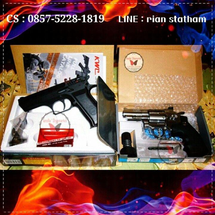 KWC Jericho 4.5mm (700FPS++) - Revolver Taurus Wingun 2.5 4.5mm (470FPS)  ⊙ Harga : Sms or Line  ⊙ minat? Sms : 0857-5228-1819 or Line : rian statham .. ⊙ Harga belum termasuk Ongkir. ⊙ FOR SERIOUS BUY ONLY !! ⊙ Transfer via : - BCA : a.n Olla - MANDIRI : a.n Olla  Happy shopping I`shop~ <3