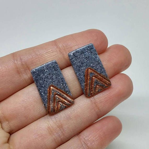 Check out this item in my Etsy shop https://www.etsy.com/ca/listing/523622259/pyramid-hand-painted-rectangle-earrings