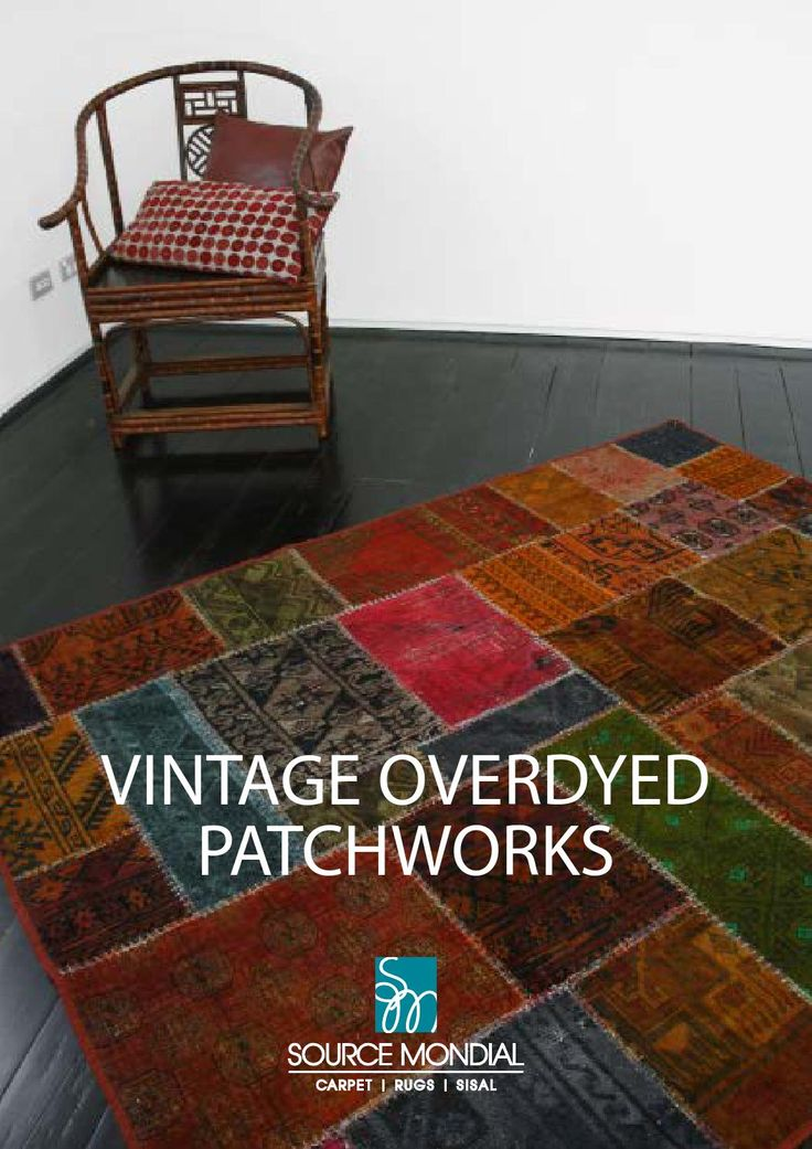Vintage Overdyed Patchworks
