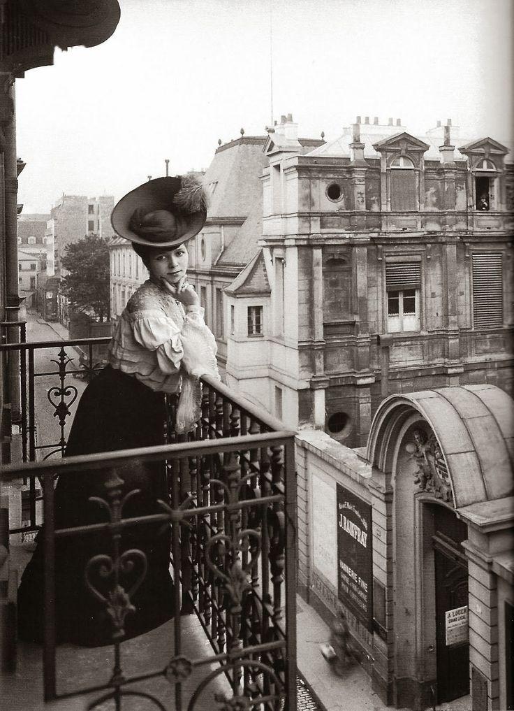 vintage everyday: Paris, ca. 1900s