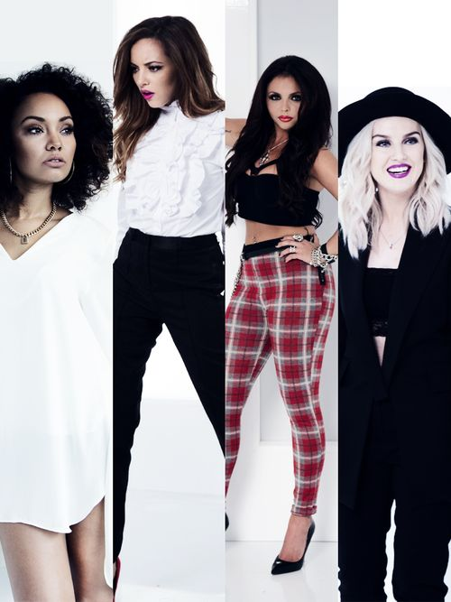Little Mix. I love their fashion sense but it would look weird on me.