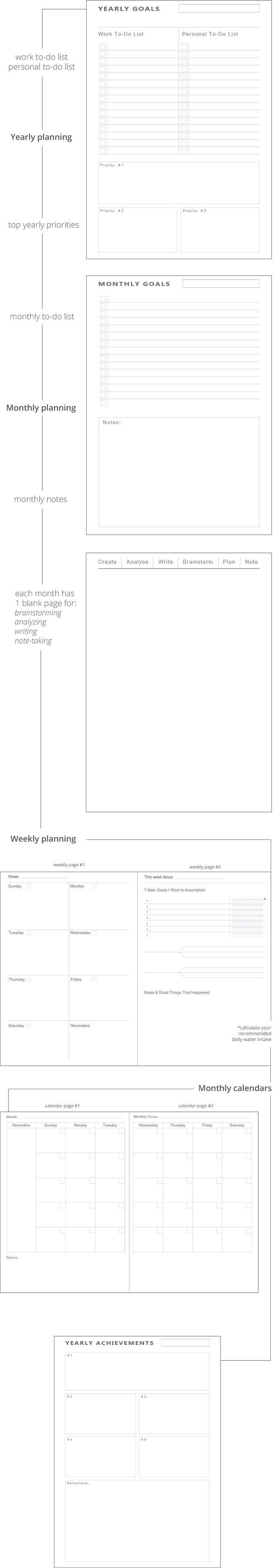 StunBear Planner   Notebook: Achieve All Your Goals by David Palmer — Kickstarter