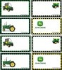 John Deere Gift Tags, stickers, gift boxes, door hangers and more....free printables!!