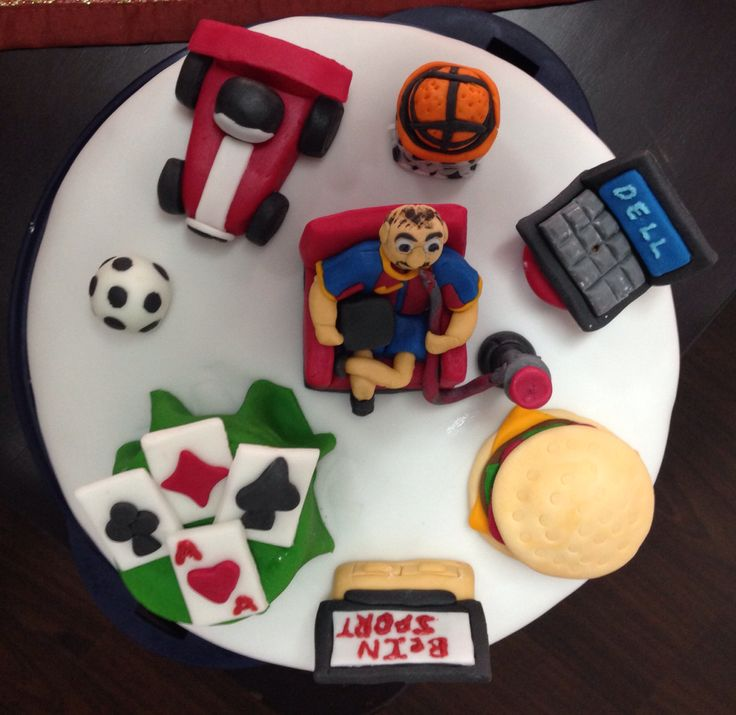 Cake Design For Husband Birthday : Homemade husband birthday cake with all his favorite ...