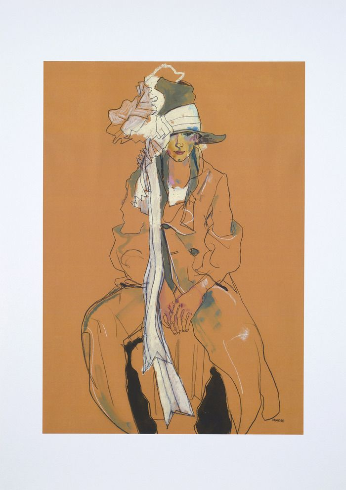 George – signed limited print on art paper