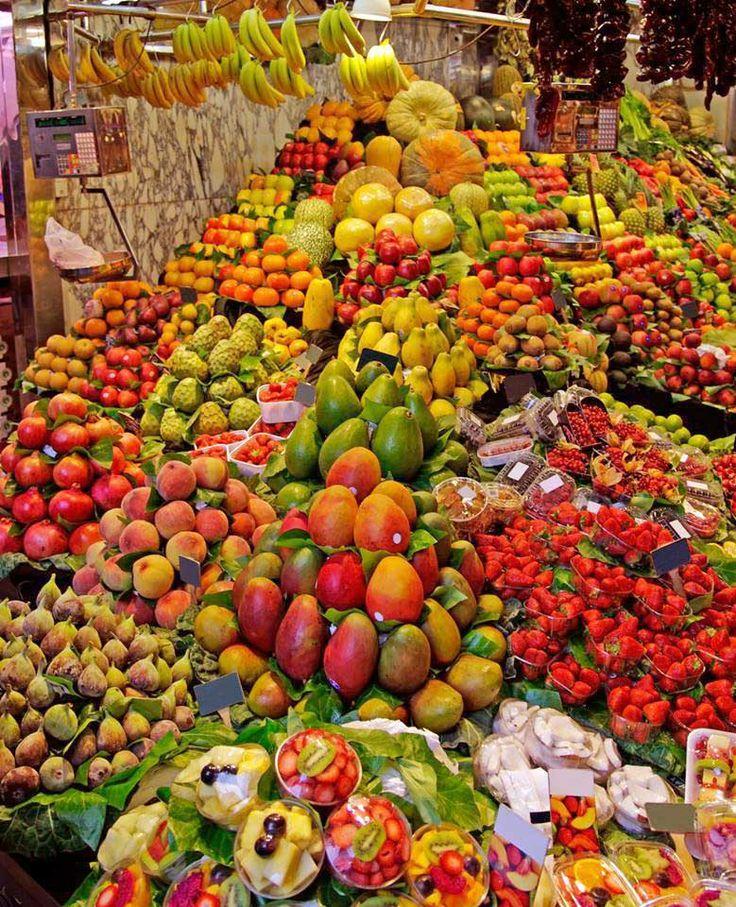 Mercado en Mexico.