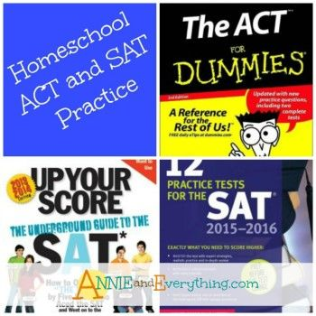 Homeschoolers have a great opportunity to incorporate ACT and SAT practice into their school day. Read to see how we did it.