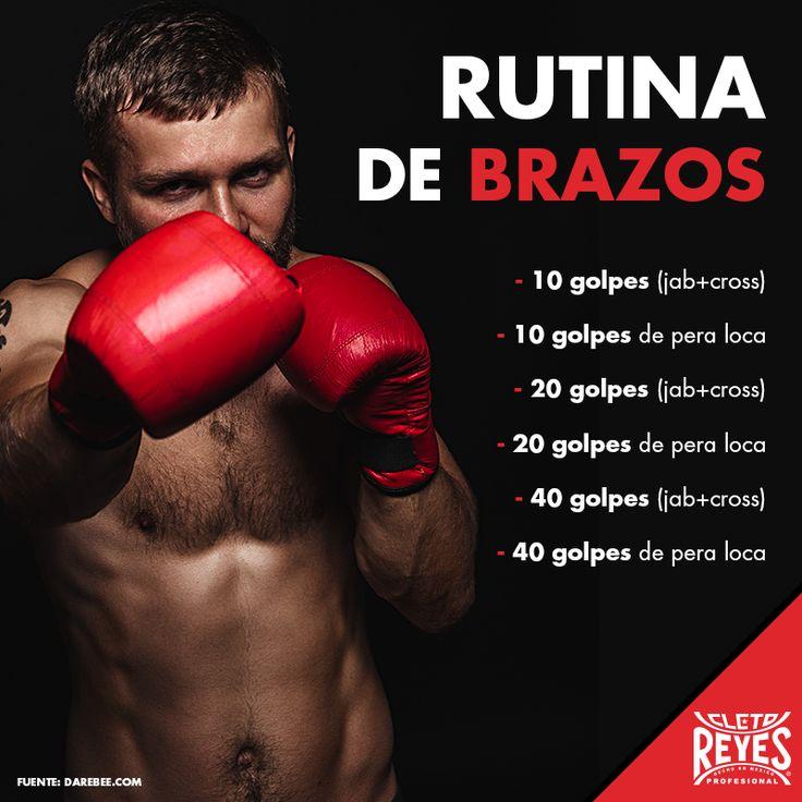Rutina de brazos. #CletoReyes #workout #boxeo #boxinggloves #box
