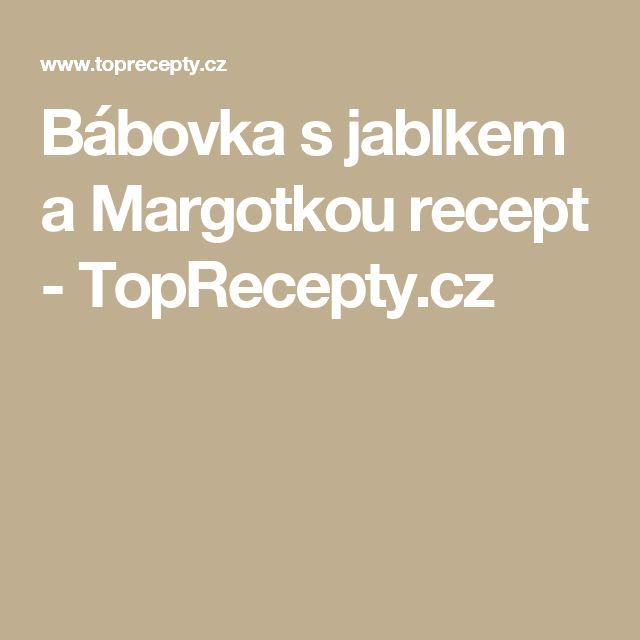 Bábovka s jablkem a Margotkou recept - TopRecepty.cz