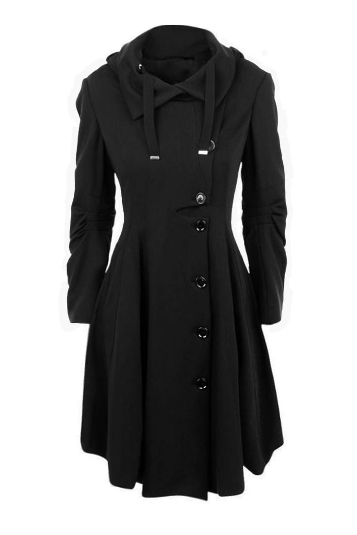 Cupshe Freeze Out Waisted Woolen Long Coat