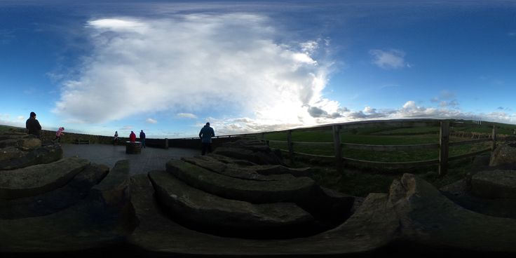 https://flic.kr/p/C4naho | Ricoh THETA S - Another test image - this time up on Royd Moor above Penistone, Yorkshire